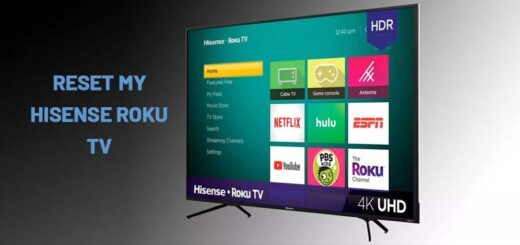 RESET MY HISENSE ROKU TV