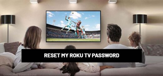 RESET MY ROKU TV PASSWORD