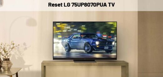 Reset LG 75UP8070PUA Tv