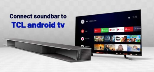 connect soundbar to TCL android tv