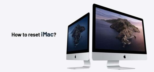 How to reset iMac