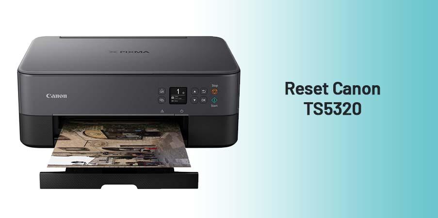reset Canon TS5320