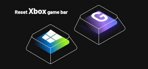 reset Xbox game bar