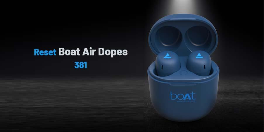 reset boat Air dopes 381
