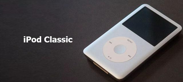 reset iPod classic