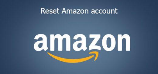 reset Amazon account