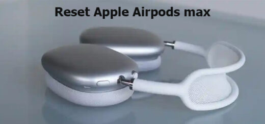 reset Apple Airpods max