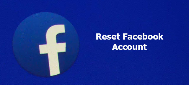 reset Facebook account