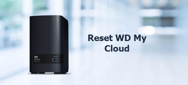 reset WD my cloud