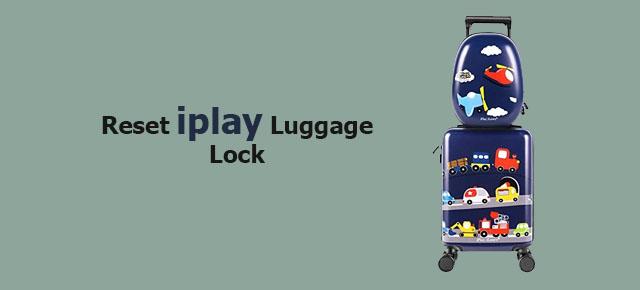 reset iplay luggage lock