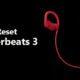 reset powerbeats 3